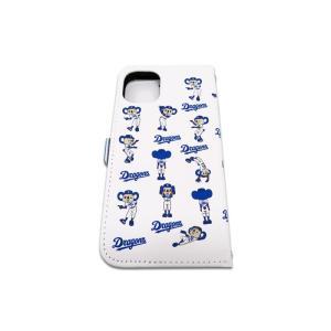 ドアラ 携帯カバー ロゴ×ドアラ全身 総柄 ホワイト iPhone6/7/8 iPhone6/7/8Plus iPhoneX/Xs iPhone Xs Max iPhone XR|case-ya|09