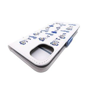 ドアラ 携帯カバー ロゴ×ドアラ全身 総柄 ホワイト iPhone6/7/8 iPhone6/7/8Plus iPhoneX/Xs iPhone Xs Max iPhone XR|case-ya|10