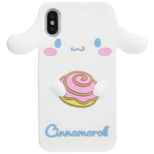iPhoneXS / X 対応 スマホケース シナモロール  シリコンケース ポムポムプリン サンリ...