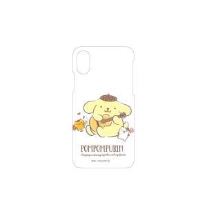 iPhoneXS / X 対応 スマホケース ポムポムプリン サンリオ グッズ アイフォン カバー ...