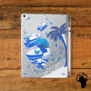 iPad ケース クリア 第5世代 第4世代 第3世代 ipad 第8世代 第7世代 第6世代 ケース アイパッド ケース 海 夏|casegarden