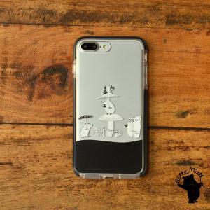 iPhone11 iPhone 11 Pro Max クリアケース TPU iPhoneケース クリア きのこ|casegarden