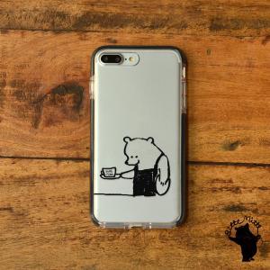 iPhone11 iPhone 11 Pro Max クリアケース TPU iPhoneケース クリア くま メンズ|casegarden