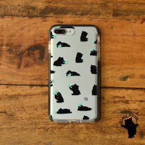 iPhone11 iPhone 11 Pro Max クリアケース TPU iPhoneケース クリア 北欧 くま|casegarden