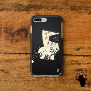iPhone11 iPhone 11 Pro Max クリアケース TPU iPhoneケース クリア 北欧 くま 鳥|casegarden