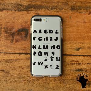 iPhone11 iPhone 11 Pro Max クリアケース TPU iPhoneケース クリア 透明 アルファベット|casegarden