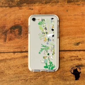 iPhone11 iPhone 11 Pro Max クリアケース TPU iPhoneケース クリア 透明 ボタニカル|casegarden