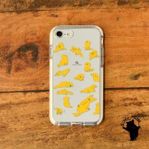 iPhone11 iPhone 11 Pro Max クリアケース TPU iPhoneケース クリア 犬 いぬ|casegarden