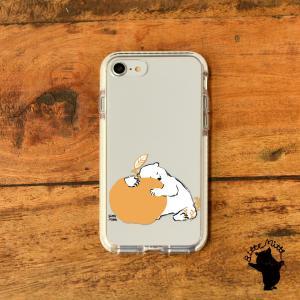 iPhone11 iPhone 11 Pro Max クリアケース TPU iPhoneケース クリア しろくま|casegarden