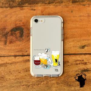 iPhone11 iPhone 11 Pro Max クリアケース TPU iPhoneケース クリア ビール 夏|casegarden