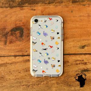 iPhone11 iPhone 11 Pro Max クリアケース TPU iPhoneケース クリア 透明 鳥|casegarden