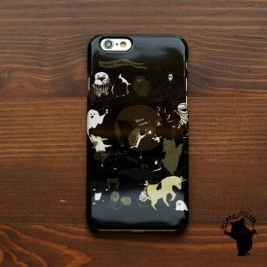 iPhone8 iphoneXR iPhoneXs iPhone6s iPhone7 ケース おしゃれ 耐衝撃 女性 女子 レディース ハード ハロウィンの一夜/Bitte Mitte|casegarden