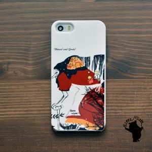 iPhone8 iphoneXR iPhoneXs iPhone6s iPhone7 ケース おしゃれ 耐衝撃 女性 女子 レディース ハード 童話 絵本 ヘンデルとグレーテル/Bitte Mitte|casegarden
