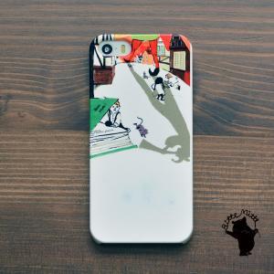 iPhone8 iphoneXR iPhoneXs iPhone6s iPhone7 ケース おしゃれ 耐衝撃 女性 女子 レディース ハード 童話 絵本 北欧 ハーメルンの笛吹き/Bitte Mitte|casegarden