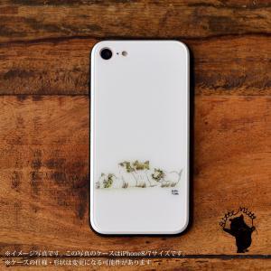 スマホケース iPhone11 iPhone 11 Pro Max ケース おしゃれ ガラス ラウンド スクエア 耐衝撃 強化ガラス iPhone ケース TPU ハードケース 光沢 ねこ 猫 動物|casegarden