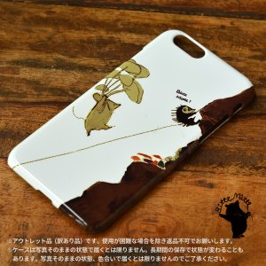 iPhone6s iPhone6 ケース おしゃれ 女子 女性 レディース ハリネズミ きのこ ある日のキノコ狩り/Bitte Mitte!【アウトレット】|casegarden