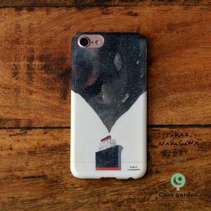 iPhoneケース おしゃれ iPhone8 iphoneXR iPhone6s iPhone7 iPhoneXs ケース 耐衝撃 ハード 北欧 満天船/中川貴雄×ケースガーデン|casegarden