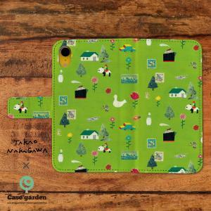 スマホケース 手帳型 全機種対応 北欧|casegarden