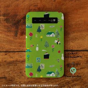 モバイルバッテリー iPhone iPhone8 iPhoneXR バッテリー 充電器 おしゃれ 女性 アンドロイド 北欧 赤ずきん/中川貴雄×ケースガーデン casegarden