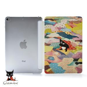 iPad Air4 ケース おしゃれ アイパッドエアー4 カバー ペン収納 ipadair4 クリアケース 透明 かわいい 猫 名入れ可|casegarden