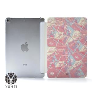 iPad Air4 ケース おしゃれ アイパッドエアー4 カバー ペン収納 ipadair4 クリアケース 透明 和柄 名入れ可|casegarden
