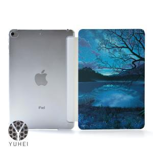 iPad 第8世代 ケース iPad 10.2 ケース 第7世代 カバー おしゃれ 可愛い アイパッド ケース 8世代 7世代 宇宙 星 名入れ可|casegarden