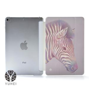 iPad Air4 ケース おしゃれ アイパッドエアー4 カバー ペン収納 ipadair4 クリアケース 透明 動物 名入れ可|casegarden