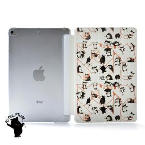 iPad Pro 12.9 第4世代 ケース 新型 iPad pro 11 2020 ケース カバー おしゃれ 可愛い アイパッド プロ ケース 猫 名入れ可|casegarden