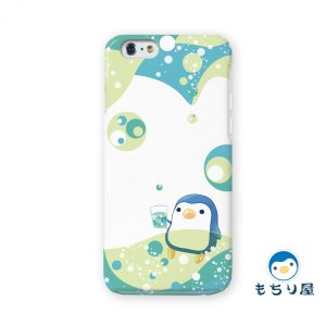 iphone6 iPhone6s ケース iPhoneSE iPhone5s iPhone5 ケース ハード 耐衝撃 おしゃれ 女性 ペンギン グッズ 鳥 みどりソーダ/もちり屋|casegarden