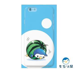 iphone6 iPhone6s ケース iPhoneSE iPhone5s iPhone5 ケース ハード 耐衝撃 おしゃれ 女性 ペンギン グッズ 鳥 まなつのひ/もちり屋|casegarden