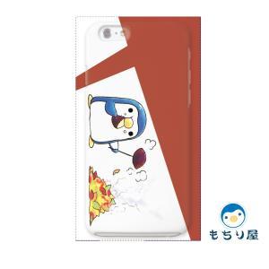 iphone6 iPhone6s ケース iPhoneSE iPhone5s iPhone5 ケース ハード 耐衝撃 おしゃれ 女性 ペンギン グッズ 鳥 あきのひ/もちり屋|casegarden