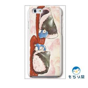 iphone6 iPhone6s ケース iPhoneSE iPhone5s iPhone5 ケース ハード 耐衝撃 おしゃれ 女性 ペンギン グッズ 鳥 卯月/もちり屋|casegarden