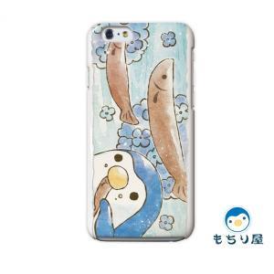 iphone6 iPhone6s ケース iPhoneSE iPhone5s iPhone5 ケース ハード 耐衝撃 おしゃれ 女性 ペンギン グッズ 鳥 水無月/もちり屋|casegarden