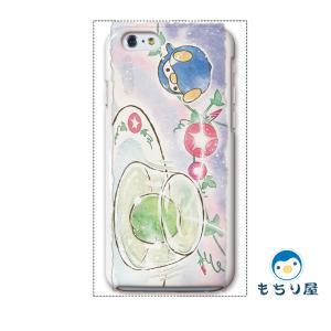 iphone6 iPhone6s ケース iPhoneSE iPhone5s iPhone5 ケース ハード 耐衝撃 おしゃれ 女性 ペンギン グッズ 鳥 文月/もちり屋|casegarden