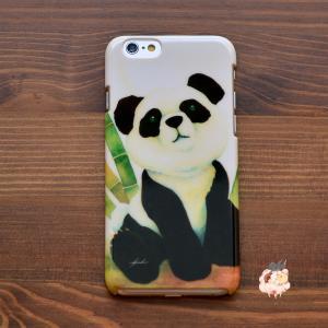 iphone8 ケース ハード アイフォン8 ハードケース iphoneX iphoneケース かわいい スマホケース パンダ どうしたの?/Syouhei Sugano|casegarden