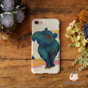 iphone8 ケース ハード アイフォン8 ハードケース iphoneX iphoneケース かわいい スマホケース 獏 バク ゆめのつかい/Syouhei Sugano|casegarden