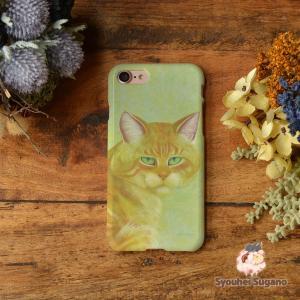 iphone8 ケース ハード アイフォン8 ハードケース iphoneX iphoneケース かわいい スマホケース 猫 ネコ 白昼/Syouhei Sugano|casegarden