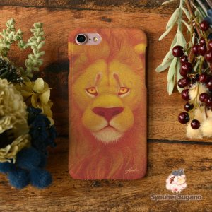 iPhone8 iPhone7 iphoneXs iPhoneX おしゃれ 女子 女性 レディース 耐衝撃 ライオン 獅子尊々/Syouhei Sugano|casegarden