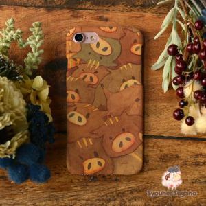 iphone8 ケース ハード アイフォン8 ハードケース iphoneX iphoneケース かわいい スマホケース うりぼう おしくらうりぼ/Syouhei Sugano|casegarden