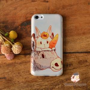 iphone8 ケース ハード アイフォン8 ハードケース iphoneX iphoneケース かわいい スマホケース うさぎ ウサギ ユニコーン? /Syouhei Sugano|casegarden