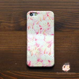 iPhone8 iPhone7 iphoneXs iPhoneX おしゃれ 女子 女性 レディース 耐衝撃 ウサギ うさぎさんまみれ(いっしょ)/Syouhei Sugano|casegarden