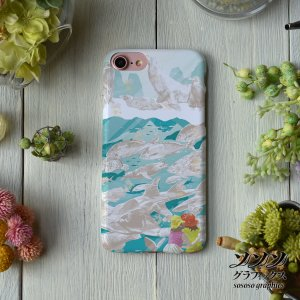 iPhone8 iPhone7 iphoneXs iPhoneX おしゃれ 女性 女子 耐衝撃 魚 海 少女 imagine the world/sososo graphics|casegarden