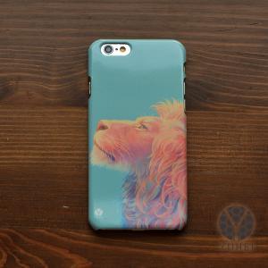iphone8 ケース ハード アイフォン8 ハードケース iphoneX iphoneケース おしゃれ スマホケース アニマル ライオン/YUHEI|casegarden