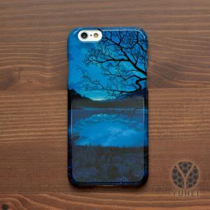 iphone8 ケース ハード アイフォン8 ハードケース iphoneX iphoneケース おしゃれ スマホケース 星空 夜空 宇宙 天の川銀河のすみっこで/YUHEI|casegarden