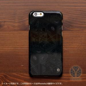 iphone8 ケース ハード アイフォン8 ハードケース iphoneX iphoneケース おしゃれ スマホケース 和風 和室 和柄 四畳半パターン2Dグレー/YUHEI|casegarden