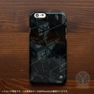 iphone8 ケース ハード アイフォン8 ハードケース iphoneX iphoneケース おしゃれ スマホケース 和風 和室 和柄 四畳半パターン3Dグレー/YUHEI|casegarden