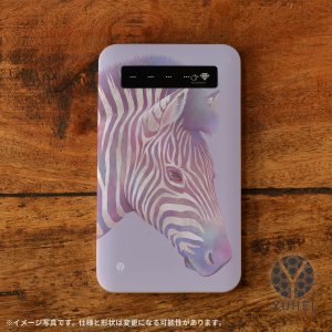 モバイルバッテリー iPhone iPhone8 iPhoneXR バッテリー 充電器 おしゃれ 女性 アンドロイド 携帯用 アニマル シマウマ/YUHEI|casegarden