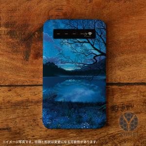モバイルバッテリー iPhone iPhone8 iPhone7 iPhone6s バッテリー 充電器 おしゃれ 女性 アンドロイド 携帯用 星空 夜空 天の川銀河のすみっこで/YUHEI casegarden