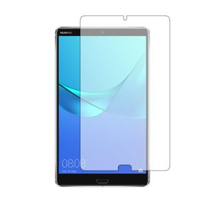 HUAWEI MediaPad M5機種用【強化ガラス同等の硬度9H ブルーライトカット 反射防止 ...
