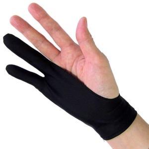 【2枚組】Mサイズ ペンタブレット 絵描き 2本指 グローブ トレース台 右利き 左効き 両用 手袋|casemania55